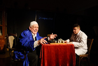 24.04.2021 - Кариев театрында Самат һәм кара король эскизы күрсәтүдән фоторепортаж (Фото Салават Камалетдинов )