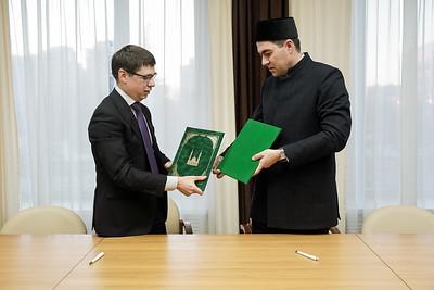 10.12.2020 - Подписание соглашения Татмедиа с Болгарской исламской академией (фото Салават Камалетдинов)
