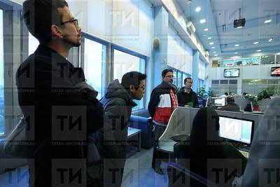 03.10.17 Визит в Татар-Информ иностранных журналистов  (фото: Михаил Захаров / ИА Татар-Информ )