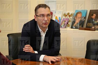 15.12.2016 Андрей Кузьмин интервью (фото: Султан Исхаков/ИА Татар-Информ)