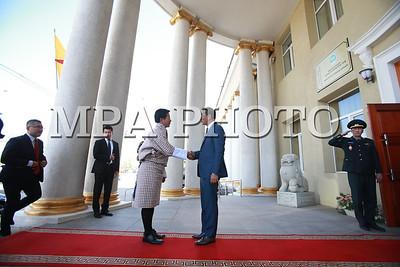 2017 есдүгээр сарын 06.   Бутаны Вант Улсын Гадаад хэргийн сайд эрхэмсэг ноён Дамчо Доржи манай улсад 2017 оны 9 дүгээр сарын 6-наас 9-ний өдрүүдэд айлчилж байна. Монгол Улсын Гадаад харилцааны сайд Ц.Мөнх-Оргил, Бутаны Вант Улсын Гадаад хэргийн сайд Дамчо Доржи нар албан ёсны хэлэлцээ хийлээ.  ГЭРЭЛ ЗУРГИЙГ Б.БЯМБА-ОЧИР/MPA