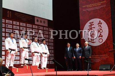 Монгол Улсын Ерөнхийлөгч Х.Баттулга жудо бөхийн медалийн төлөөх барилдааныг үзэж сонирхлоо