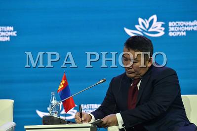 Монгол Улсын Ерөнхийлөгч Х.Баттулга Дорнын эдийн засгийн III чуулга уулзалтын өргөтгөсөн хуралдаанд үг хэллээ