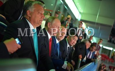 2017 наймдугаар сарын 28. Унгарын нийслэл Будапешт хотноо болж байгаа Жүдо бөхийн Дэлхийн Аварга Шалгаруулах Тэмцээний үеэр Монгол Улсын ерөнхийлөгч Халтмаагийн Баттулга, ОХУ-ын ерөнхийлөгч Владимир Путин нар анх удаа уулзсан байна.