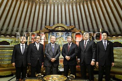 Монгол Улсын Ерөнхийлөгч Х.Баттулгад Япон Улсын Парламентын Төлөөлөгчдийн танхимын дарга Т.Оошима бараалхлаа