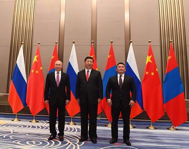 Монгол Улсын Ерөнхийлөгч Х.Баттулга Монгол Улс, ОХУ, БНХАУ-ын төрийн тэргүүн нарын дөрөв дэх удаагийн дээд хэмжээний уулзалтад оролцож үг хэллээ