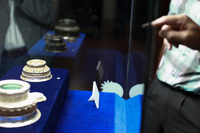 """2019 долоодугаар сарын 19. Дарьганга хийцийн мөнгөн эдлэлийн """"Нандин өв"""" үзэсгэлэн. ГЭРЭЛ ЗУРГИЙГ Г.ӨНӨБОЛД /МРА"""