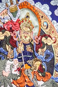 """2019 оны хоёрдугаар сарын 21. Богд хааны ордон музейд """"Гайхамшигт өв соёл-Монгол уран хатгамал"""" үзэсгэлэнгийн нээлт боллоо. ГЭРЭЛ ЗУРГИЙГ /MPA"""