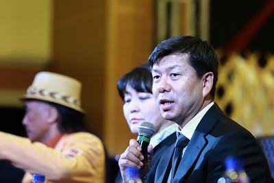 """2020 оны есдүгээр сарын 23. Филармонийн үзвэрийн 49 дэх жилийн нээлт, Баян Монгол чуулгын """"Ганган Дагшаа"""" тоглолтын талаар мэдээлэл хийлээ.   ГЭРЭЛ ЗУРГИЙГ Д.ЗАНДАНБАТ/MPA"""