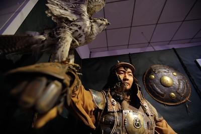 """2020 оны есдүгээр сарын 23. """"Хубилай хаан ба Монгол жанжид"""" үзэсгэлэнгийн нээлт боллоо.  ГЭРЭЛ ЗУРГИЙГ Г.ӨНӨБОЛД/MPA"""