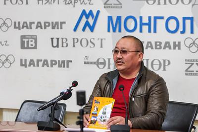 """2019 оны Дөрөвдүгээр сарын 08. """"Чингис хааны түүхэн цогцолбор бүтээгчдийн холбоо"""" ТББ-аас . ГЭРЭЛ ЗУРГИЙГ Г. БАЗАРРАГЧАА \MPA"""