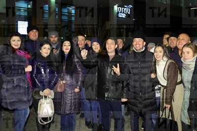 24.10.2017 - Флешмоб, певцов татарской эстрады в поддержку татарского языка (фото: Салават Камалетдинов)