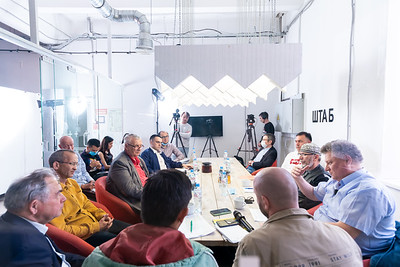30.06.2020 -ШТАБ үзәгендә «Татар квадраты» утырышы  (Фото Салават Камалетдинов )
