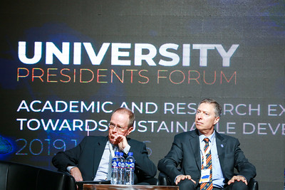 """2019 оны аравдугаар сарын 15. Монгол улсын шинжлэх ухаан, технологийн их сургуулийн түүхт 60 жилийн ой энэ оны 10 дугаар сард тохиож байна.  ШУТИС олон улсын 200 гаруй их, дээд сургуультай шууд хамтын ажиллагаатайгаас 60 гаруй нь маш идэвхтэй түнш юм. Одоогийн байдлаар ШУТИС нь 20 гаруй сургуультай 2+2 хамтарсан хөтөлбөрөөр мэргэжилтэн бэлтгэж байна.  ШУТИС-ийн 60 жилийн ойн хүрээнд 2019 оны 10 дугаар сарын 15, 16-ны өдрүүдэд дэлхийн шилдэг 30 их сургуулийн захирлууд Монгол улсад анх удаа чуулан """"Тогтвортой хөгжилд дээд боловсрол - дэвшилт технологийн үүрэг, ач холбогдол"""" форумд оролцоно.  60 жилийн түүхэн хугацаанд ШУТИС-тай хамтран ажилласан гадаадын нэр хүндтэй, томоохон их сургуулиудын ректорууд, лидрүүд, удирдлагууд цуглах уг формын үеэр хамтын ажиллагааны үр дүнгээ хэлэлцэх, эрдэм шинжилгээ, сургалт судалгааны ажлын талаар мэдлэг, туршлагаа харилцан солилцох, их сургуулиудын түвшинд цаашдын хамтын ажиллагааг эрчимжүүлэх, даяарчлагдсан мэдлэгийг түгээх талаар санал, зөвлөмж боловсруулах, форумын дүнд бий болох санал, зөвлөмжийг их сургуулийн бодлого, үйл ажиллагаанд тусган хэрэгжүүлэх зорилготой юм. ГЭРЭЛ ЗУРГИЙГ Б.БЯМБА-ОЧИР/MPA"""