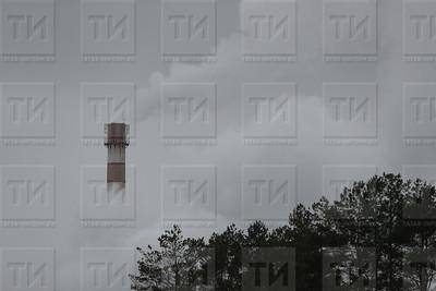 Россия. Менделеевск. 26.10.2017 - Завод АО Аммоний Менделеевск (фото: Ильнар Тухбатов/ ИА Татар-Информ)