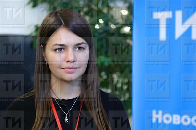 13.09.2017 - Пресс-подход Российско - Китайского конгресса молодых предпринимателей (фото: Салават Камалетдинов)