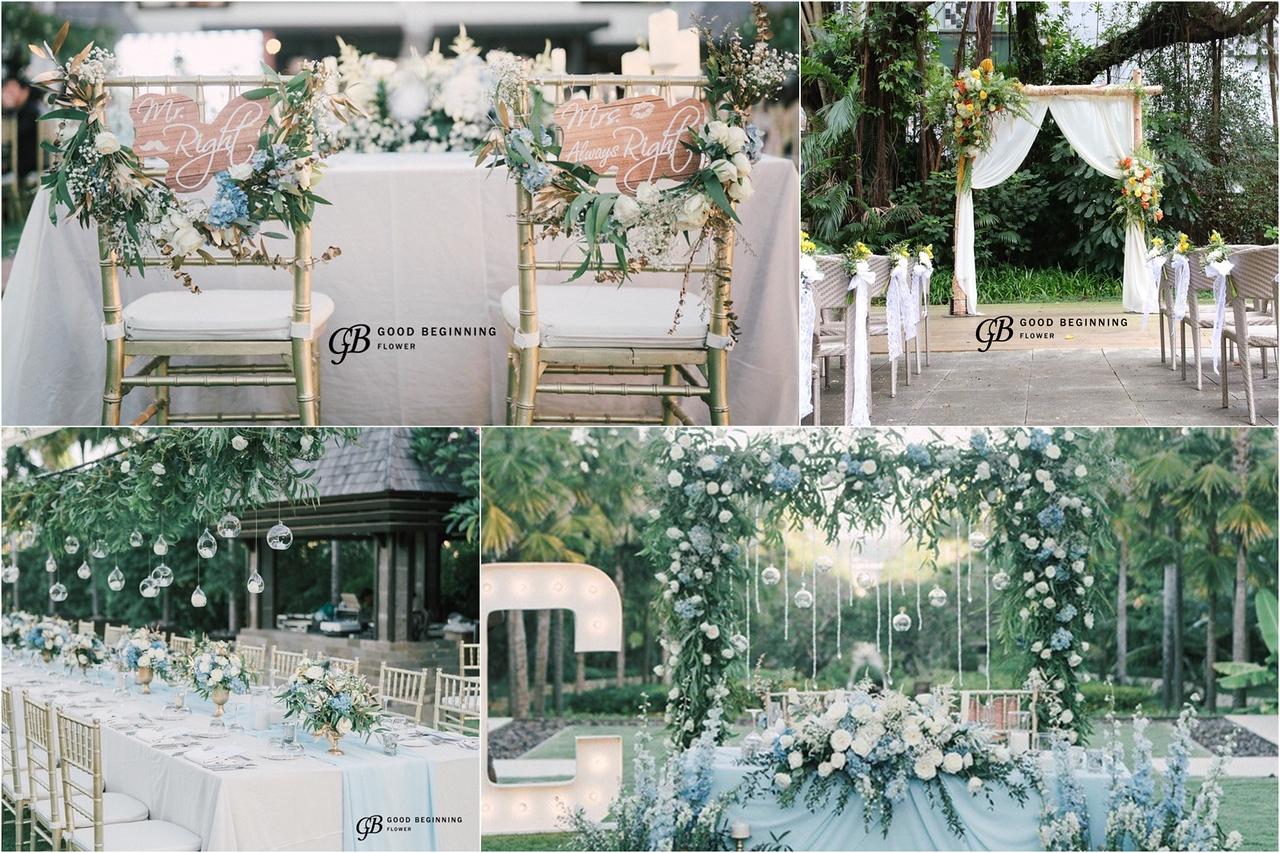 《婚禮花藝佈置師Jacky》最貼心的夢幻婚禮助攻神隊友 / 婚禮花藝佈置師專訪