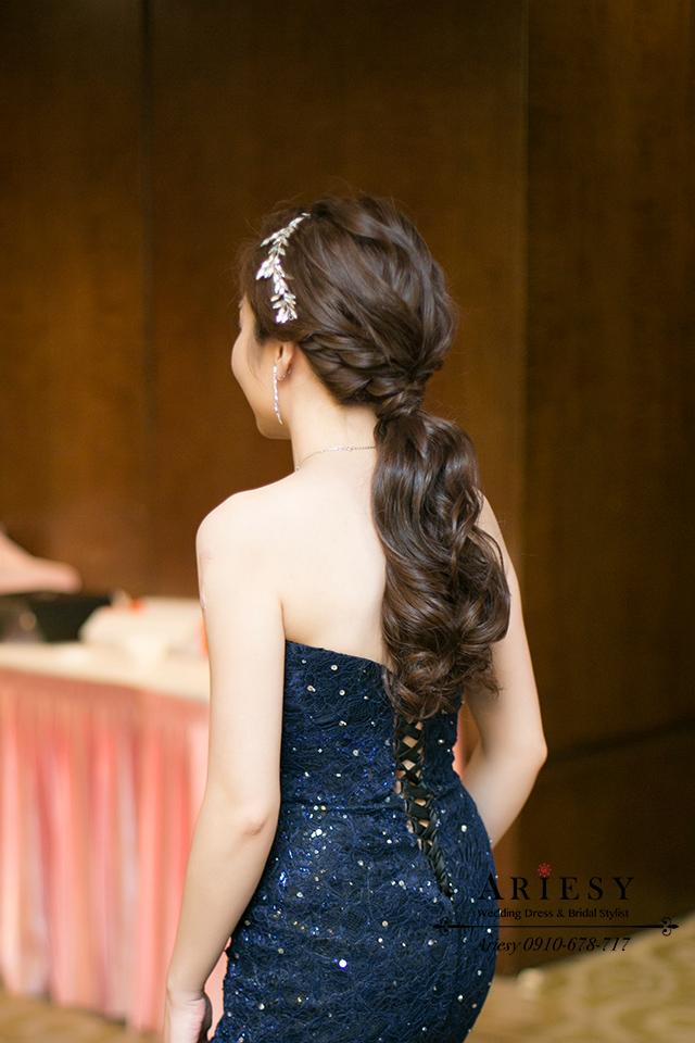 好媳婦造型、新娘秘書、歐美風新秘、新娘髮型、台中新秘