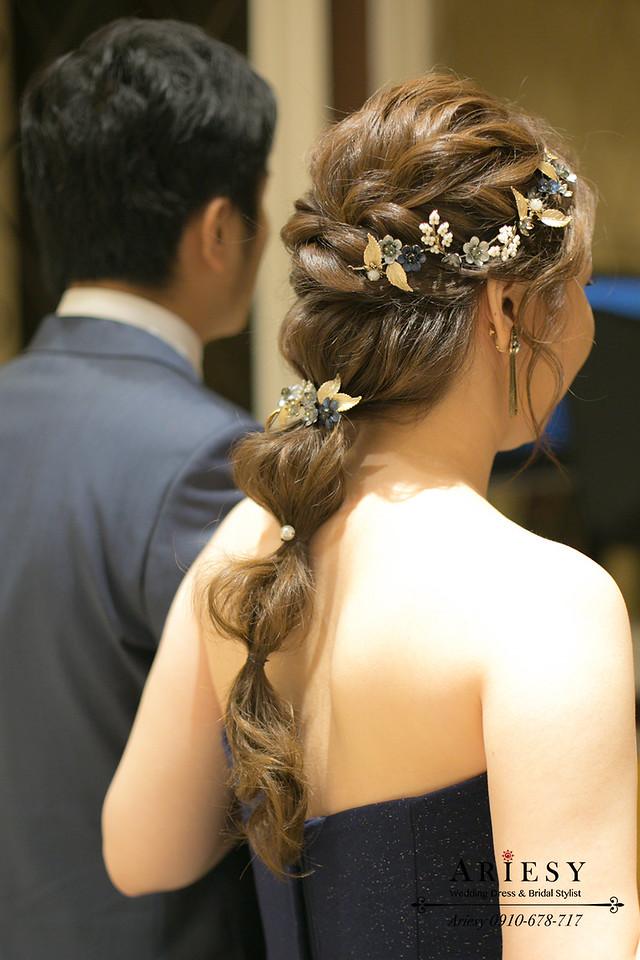 新娘秘書,台中新娘秘書,編髮造型,新娘造型,新娘髮型,Ariesy新娘秘書