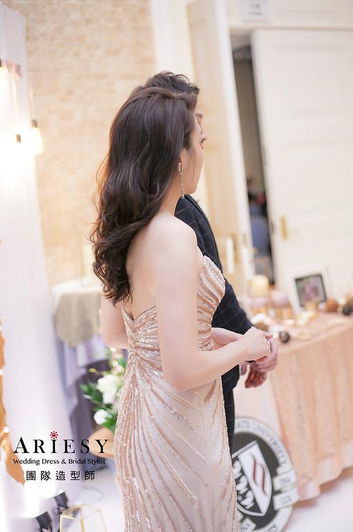 編髮造型,新娘祕書,新娘造型,新祕,推薦新祕,名媛風,宴客造型