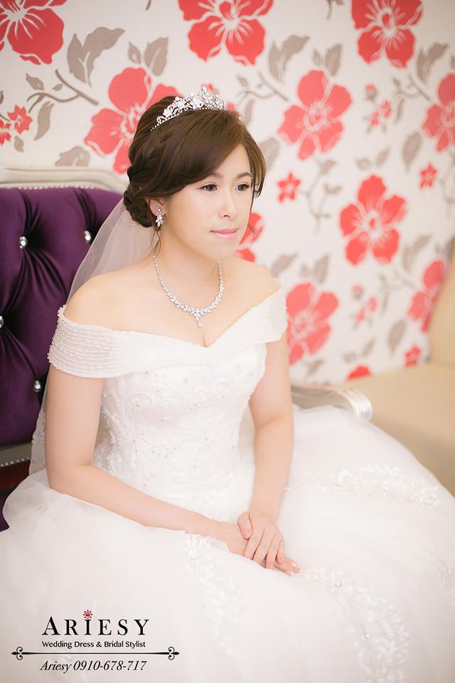 皇冠造型,鮮花新秘,新娘髮型,編髮造型,新秘作品