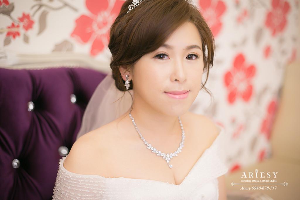 白紗造型,鮮花新秘,新娘髮型,編髮造型,新秘作品