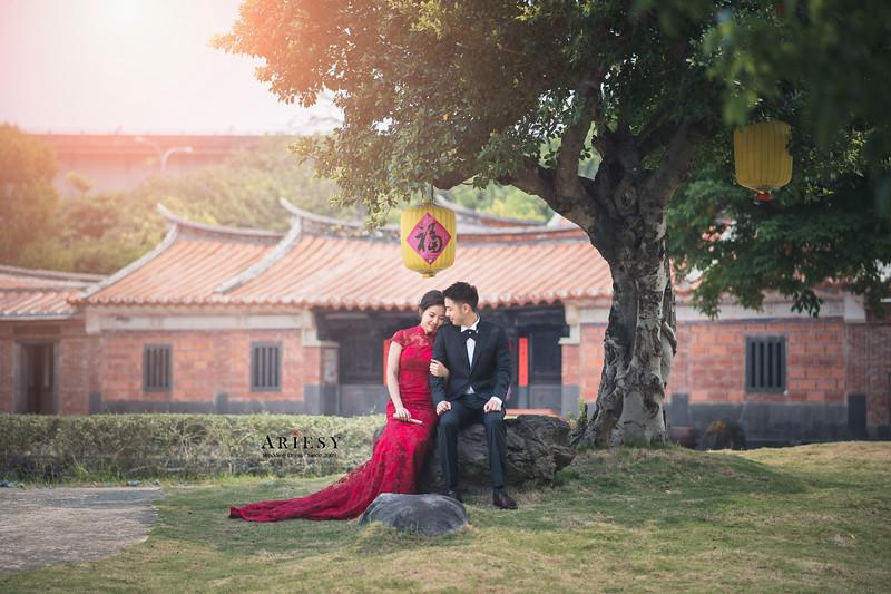 婚紗包套,台北新祕,自然清透妝感,旗袍造型,新娘造型,花藝造型,攝影師大青蛙
