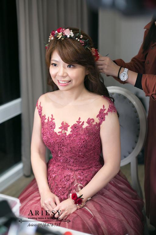 美式新娘秘書,游泳池婚禮,青青時尚,台北新秘,戶外婚禮造型,鮮花新秘