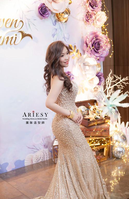 新娘髮型,編髮造型,台北新祕,新娘秘書,新娘造型,送客造型,名媛造型,自然妝感,