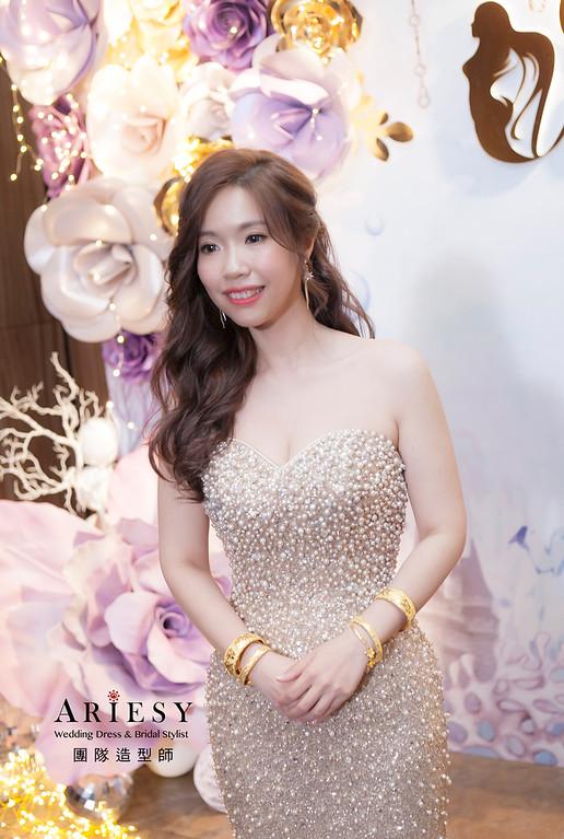 新娘髮型,編髮造型,台北新祕,新娘秘書,新娘造型,送客造型,名媛造型,自然妝感