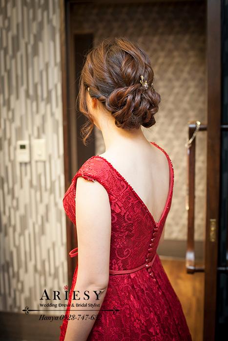 新娘造型,新祕推薦,鮮花飾品造型,白紗髮型,新娘祕書