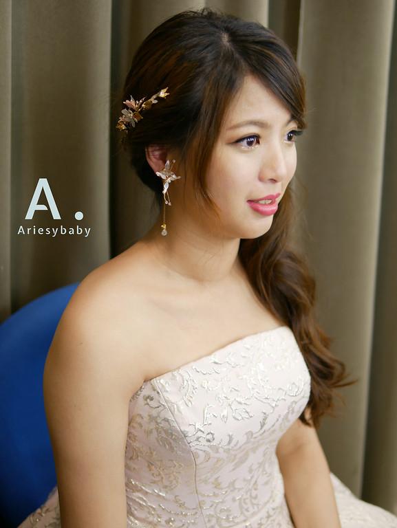 新祕,新娘祕書, Ariesybaby造型團隊,新娘造型,編髮造型