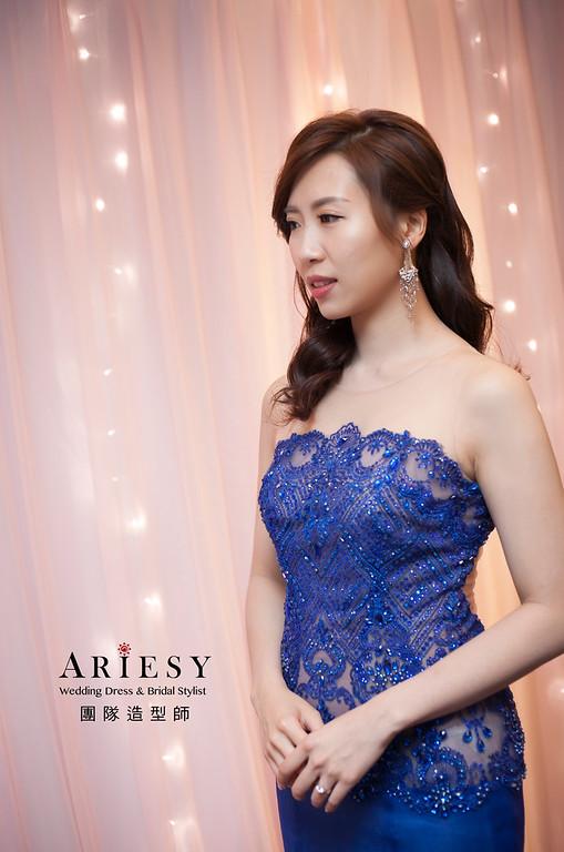 送客髮型,新娘髮型,自然妝感,,新娘造型,蓬鬆線條編髮,晶華酒店