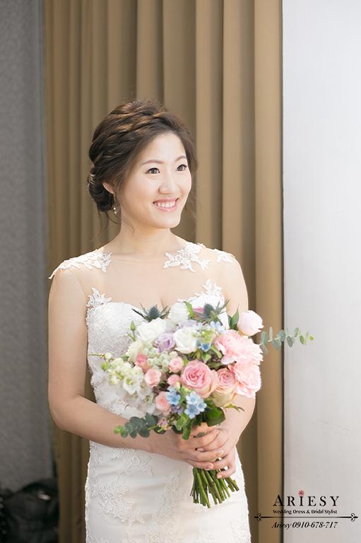 台北新娘秘書,韓風新秘,歐美風新娘秘書,愛瑞思,ARIESY,新莊晶宴戶外婚禮
