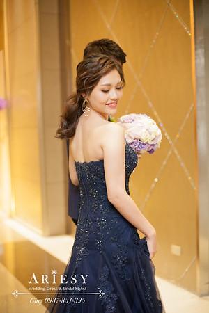 台北新秘,歐美風造型,鮮花造型,新娘秘書,新娘造型