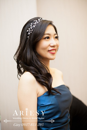 歐美新娘,黑髮造型,新秘,新娘造型,鮮花造型