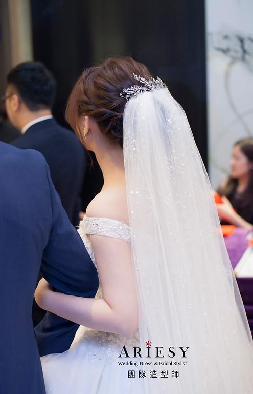 白紗造型,台北新祕,新娘秘書,新娘造型,自然清透妝感,新祕