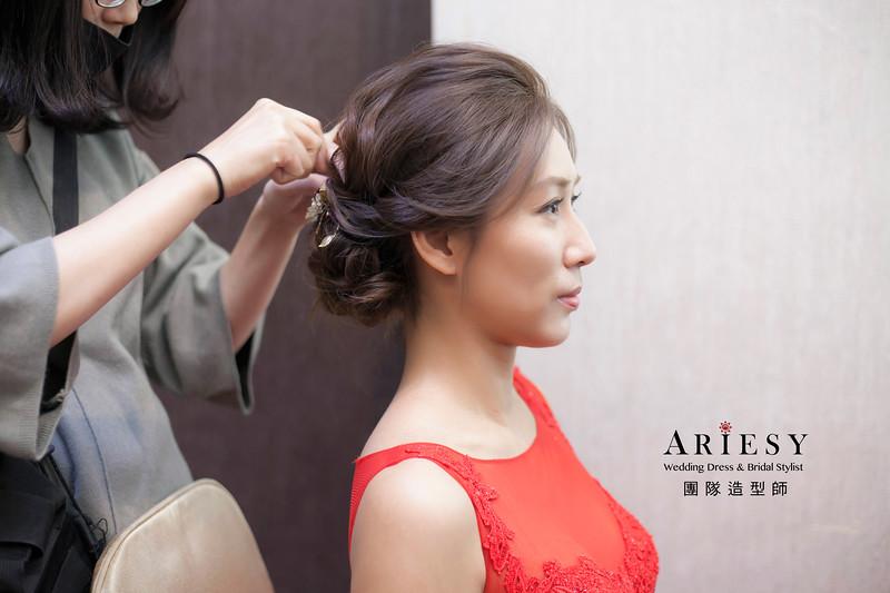 文訂造型,蓬鬆編髮造型,台北新祕,新娘秘書,新娘造型,自然妝感,盤髮造型