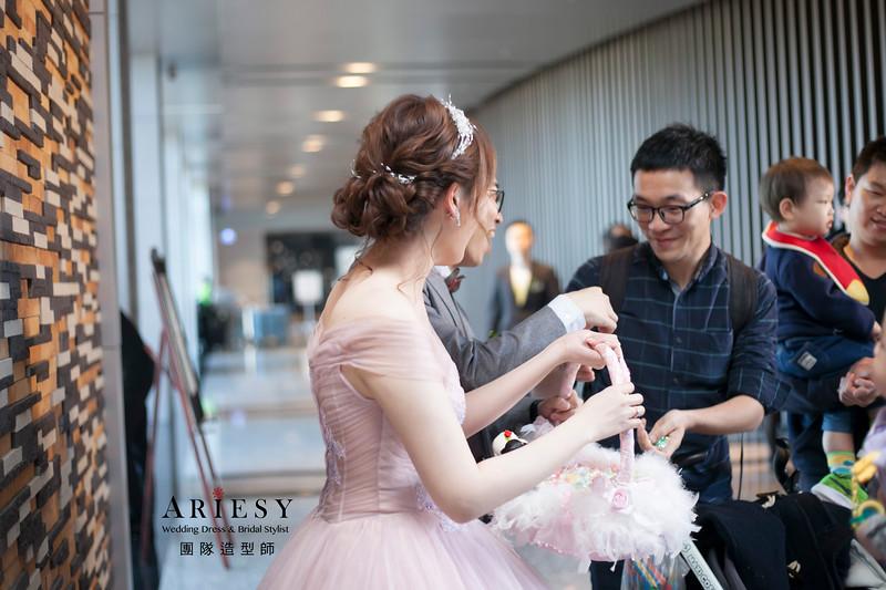 送客髮型,短髮新娘造型,自然妝感,蓬鬆編髮髮型,新娘髮型