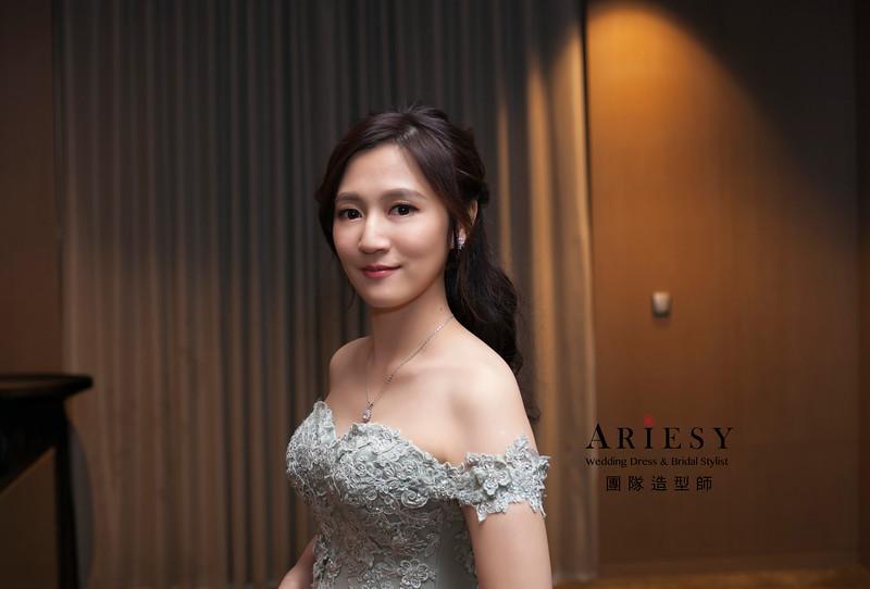 送客造型,新娘造型,自然妝感,甜美名媛髮型,新娘髮型