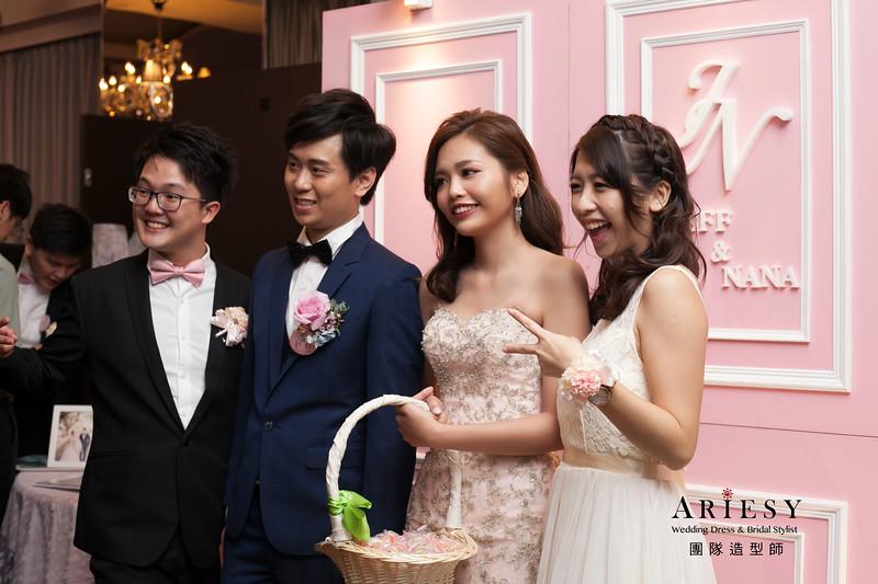 送客髮型,短髮新娘造型,自然妝感,時尚名媛髮型,新娘髮型