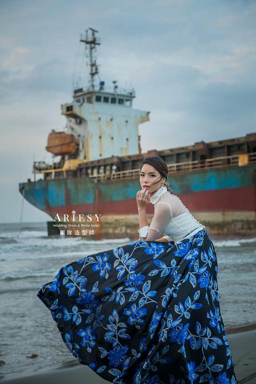 個人寫真攝影,台北婚紗攝影,新娘秘書,低馬尾造型,台北新祕