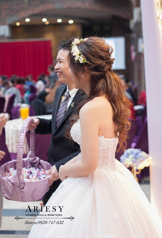 甜美新娘造型,新秘推薦,新娘秘書,宴客造型,新娘髮型