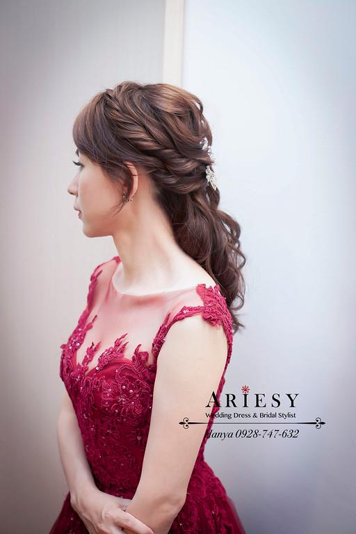 時尚造型,桃園新秘,新秘推薦,新娘造型,蓬鬆編髮