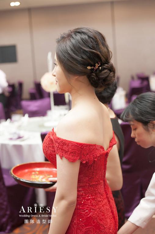 文定造型,盤髮造型,台北新祕,新娘秘書,新娘造型,自然清透妝感,推薦新祕
