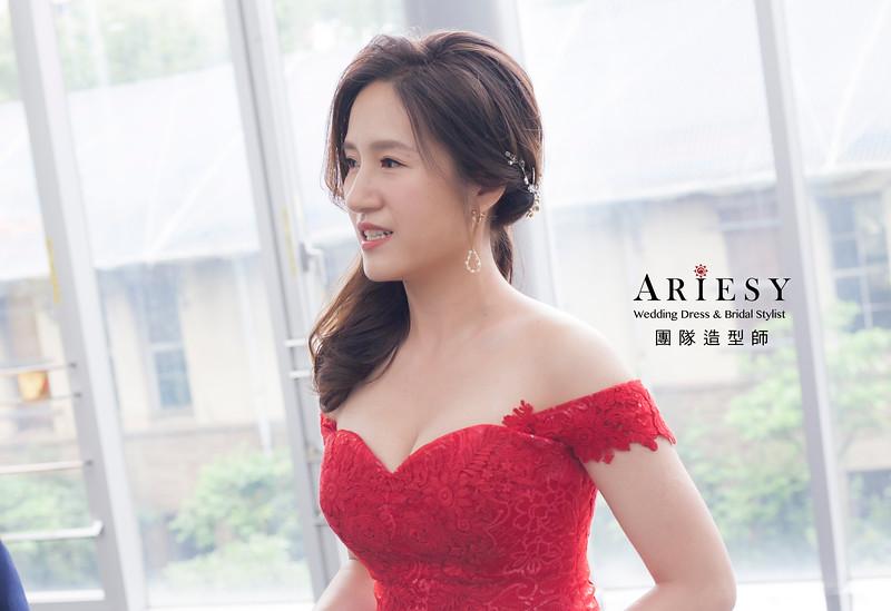 新娘髮型,編髮造型,台北新祕,新娘秘書,新娘造型,自然清透妝感,推薦新祕