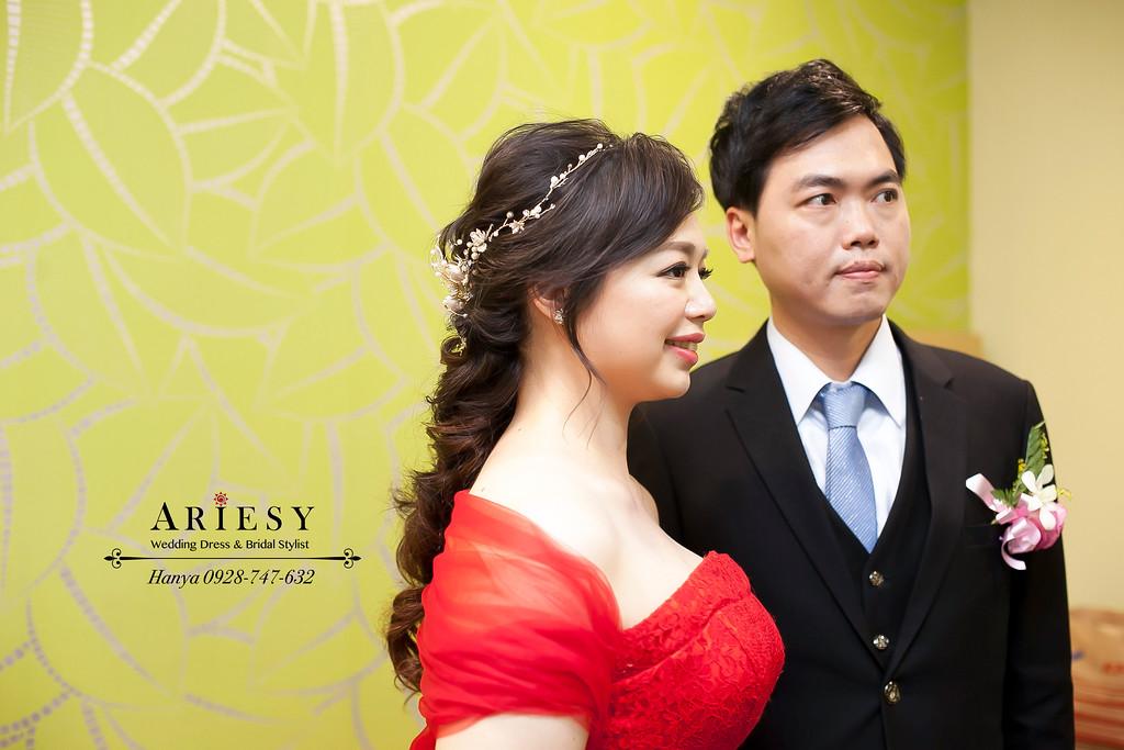 台北新祕,蓬鬆編髮造型,自然妝感,新娘造型,新娘髮型
