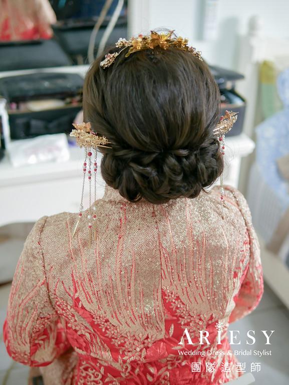 文定髮型,秀和服造型,新娘編髮,新秘推薦,新娘髮型