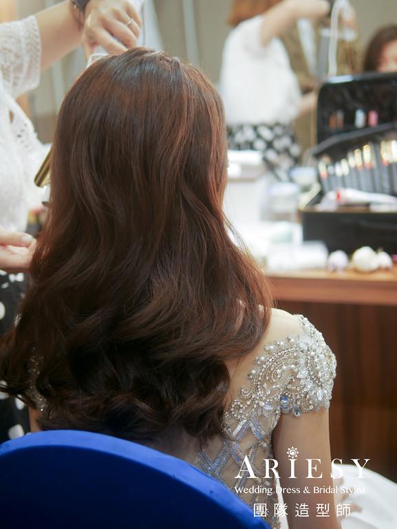 敬酒造型,放髮造型,新娘妝感,時尚風格,新秘推薦