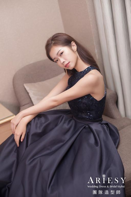 送客造型,時尚造型,油頭造型,新娘髮型,台北新秘
